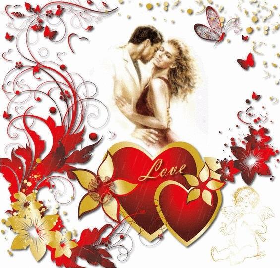 Красивые открытки на День Святого Валентина 06
