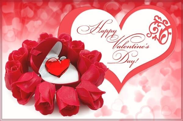 Красивые открытки на День Святого Валентина 15