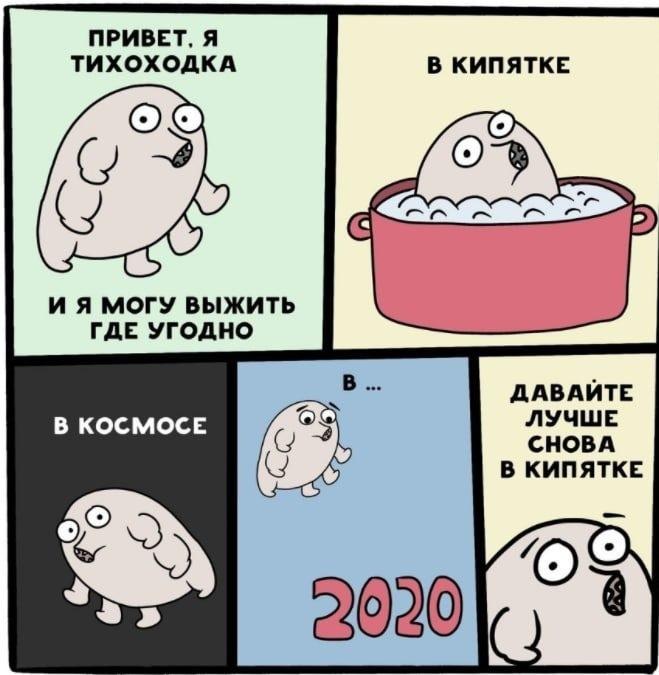 Мемы про уходящий 2020 год 25