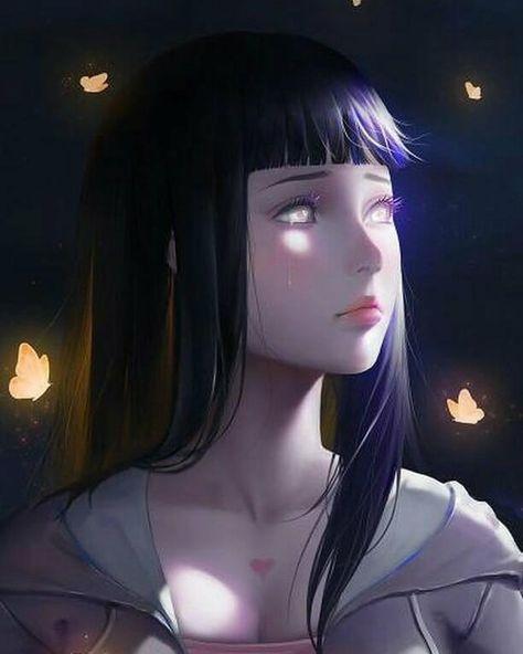Взрослая Хината арт картинки из Наруто (26)