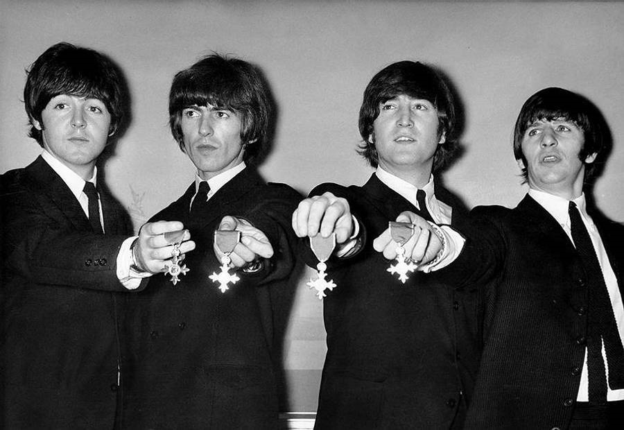 Красивые картинки на Всемирный день «The Beatles» 08