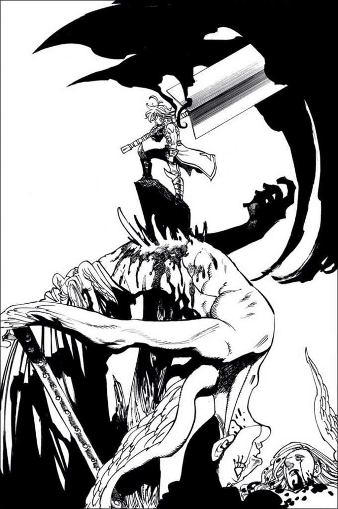 Мелиодас драконий грех в картинках (3)