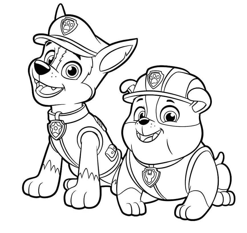 Скай раскраска щенячий патруль, красивые картинки 08