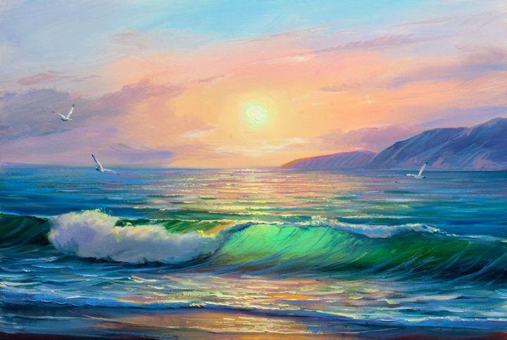 Арт картинки море и океаны   подборка (24)