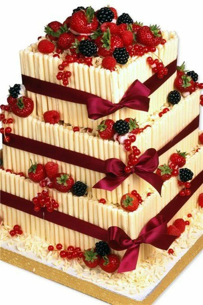 Вкусные и красивые торты картинки на день рождения 10