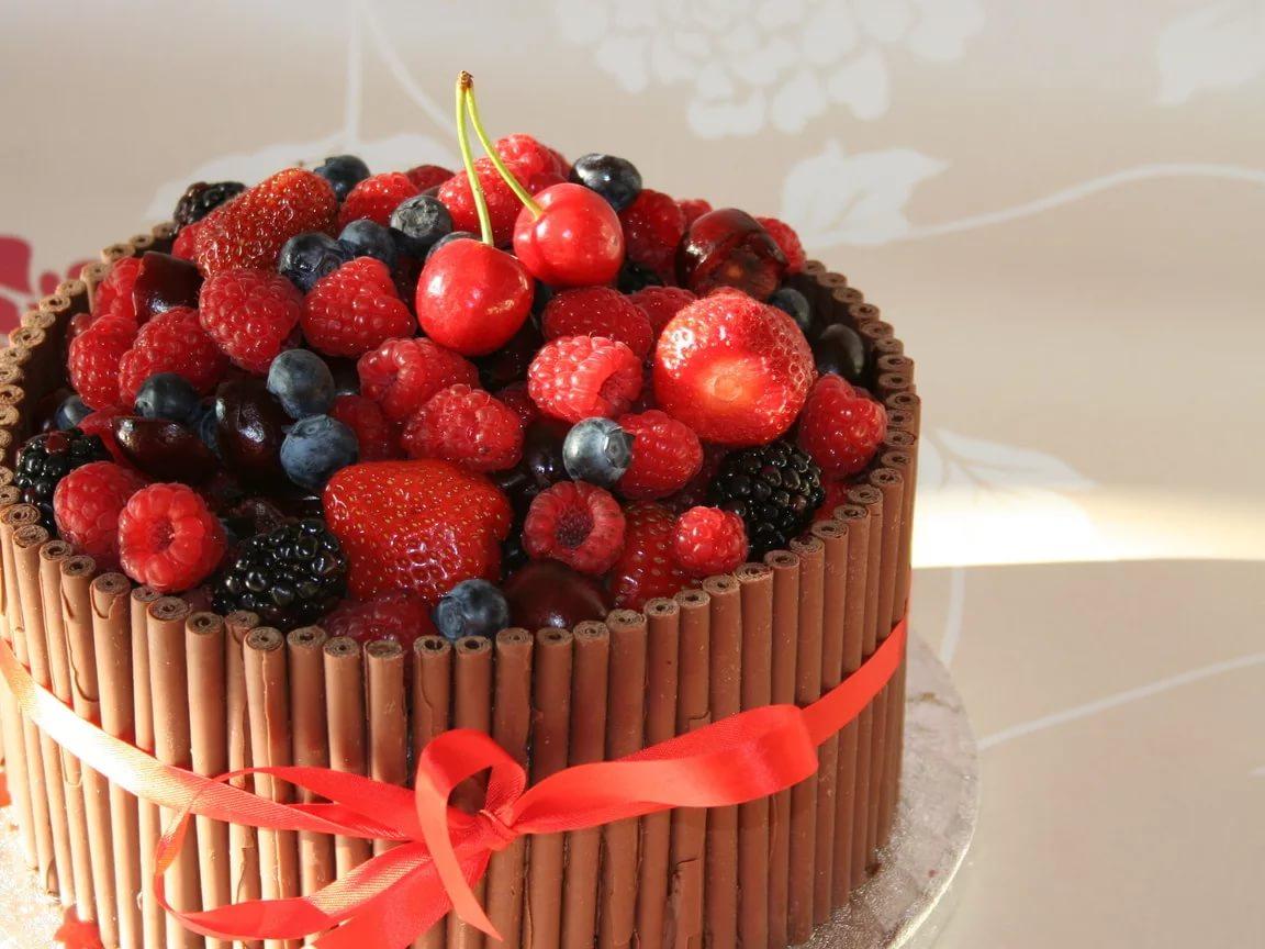 Вкусные и красивые торты картинки на день рождения 8