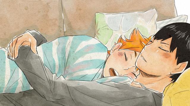 Кагеяма Тобио и Хината Шое красивые картинки (21)