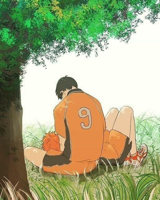 Кагеяма Тобио и Хината Шое красивые картинки (7)