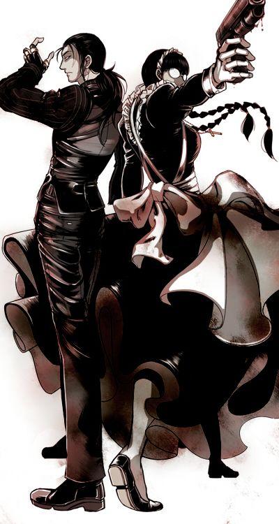 Красивые картинки Черная Лагуна из аниме (16)