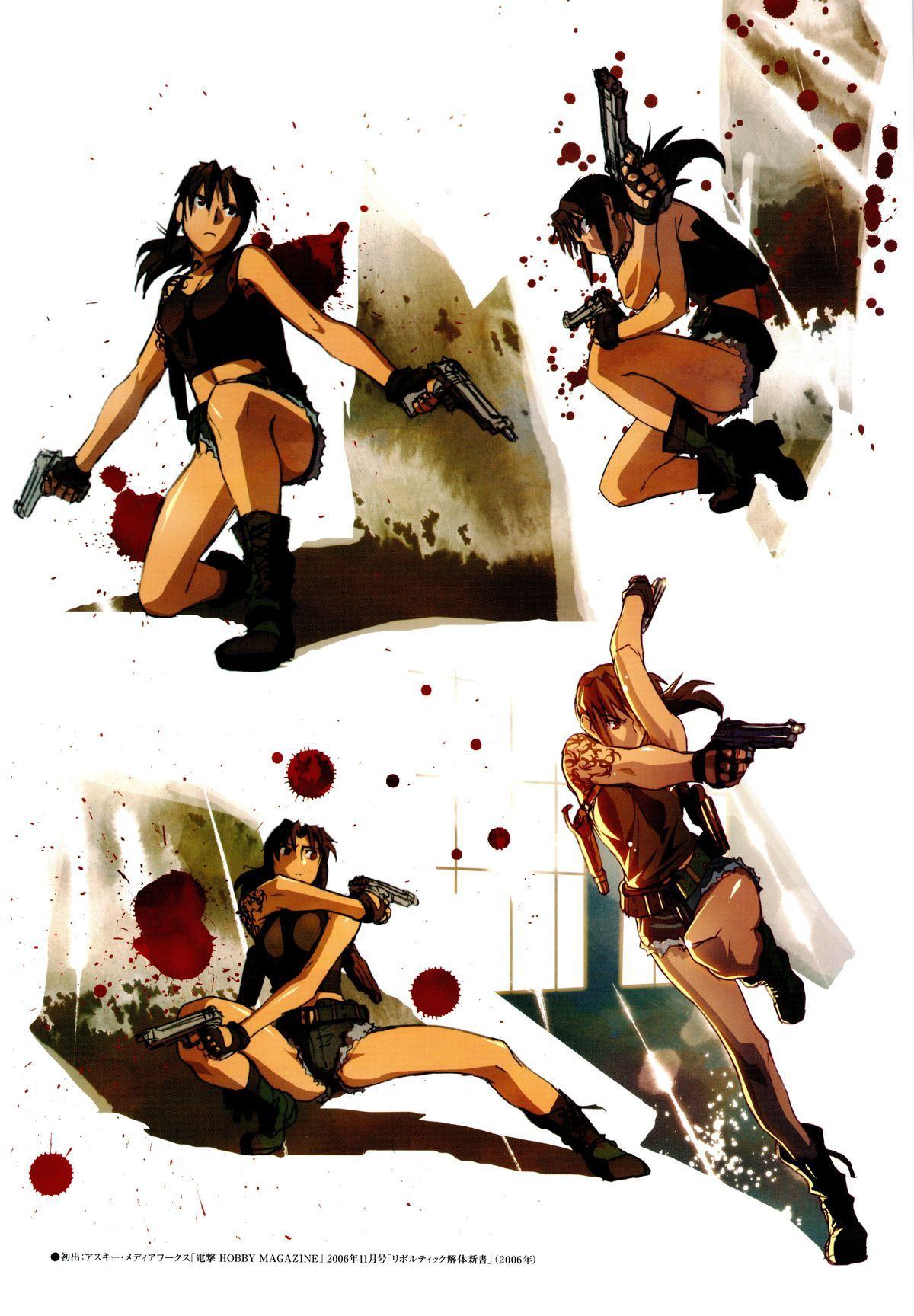 Красивые картинки Черная Лагуна из аниме (4)