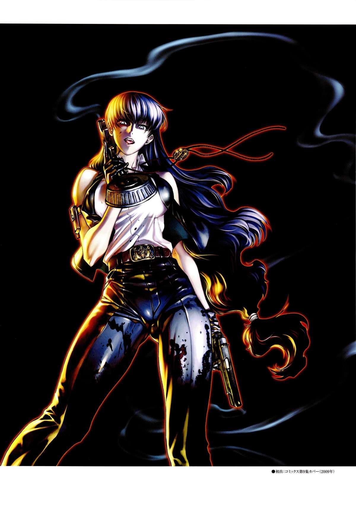Красивые картинки Черная Лагуна из аниме (7)