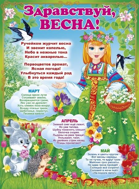 Красивые открытки Здравствуй Весна   подборка (20)