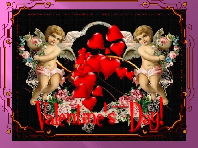 Красивые открытки на 14 февраля для девушки, поздравления (13)
