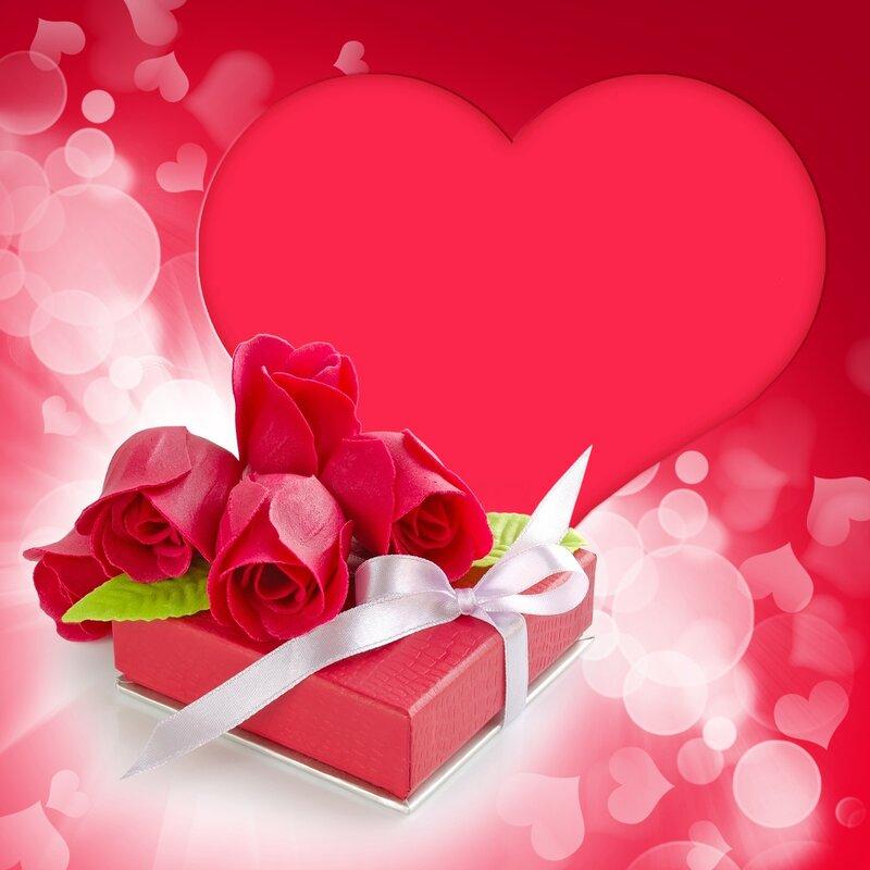 Красивые открытки на 14 февраля для девушки, поздравления (4)