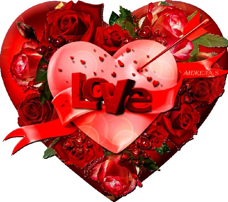 Красивые открытки на 14 февраля для девушки, поздравления (9)
