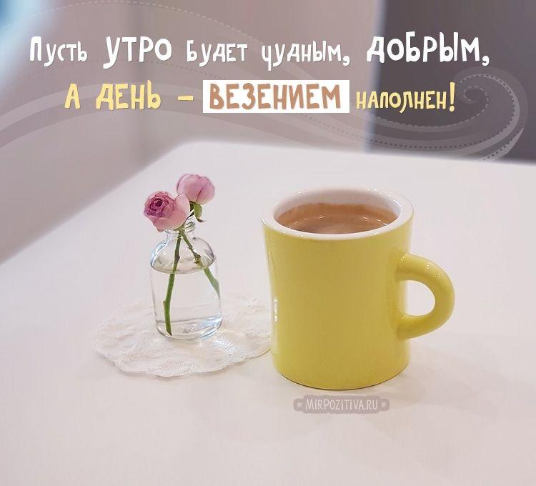 Светлое и доброе утро понедельника, красивые картинки (23 фото) 20