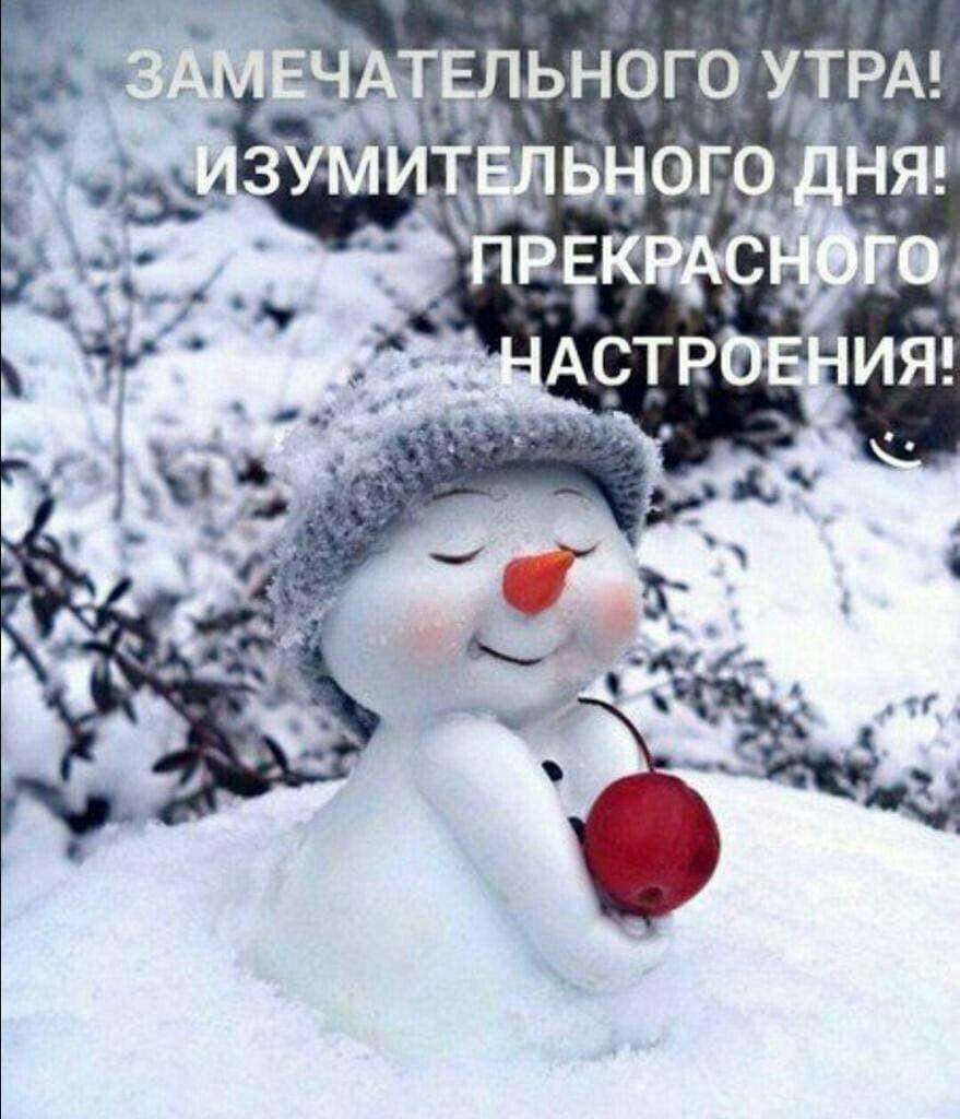 Скачать красивую открытку с добрым утром зимним   прикольная подборка 14
