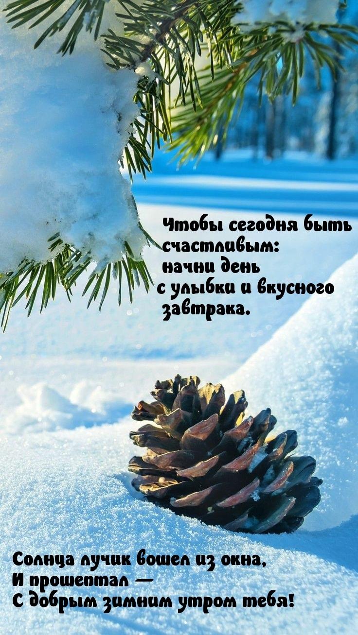 Топовые открытки с добрым зимним настроением 09