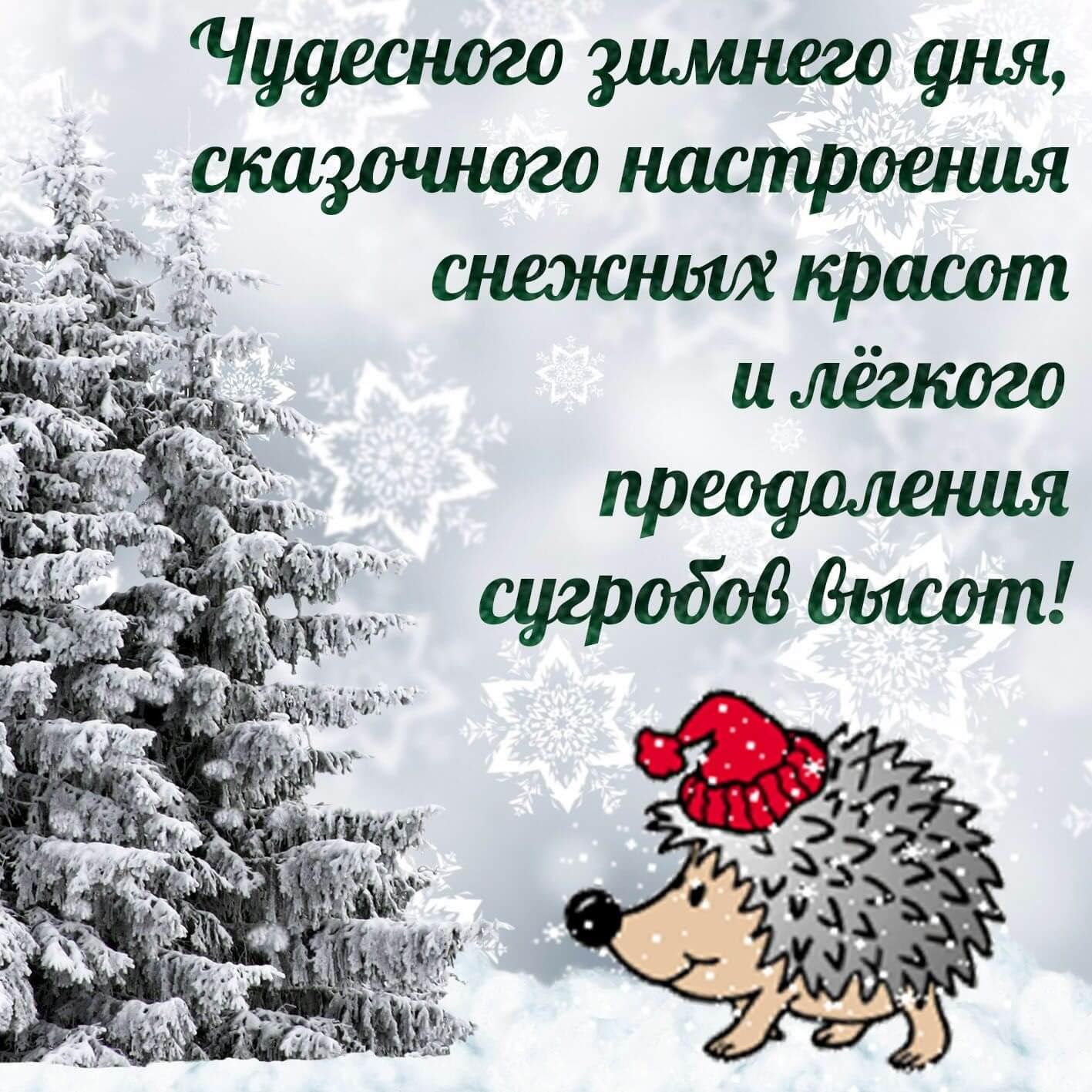 Топовые открытки с добрым зимним настроением 14