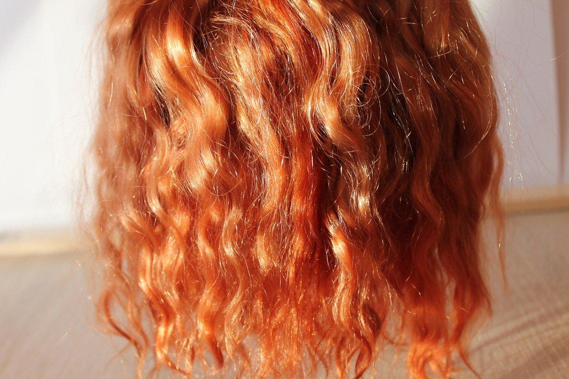 Красивые рыжие волосы