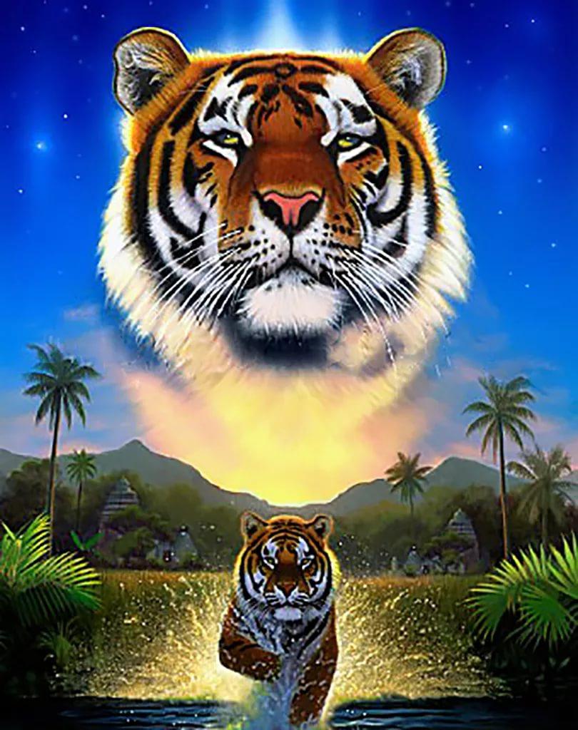 Картинки тигра на телефон скачать лучшие 11