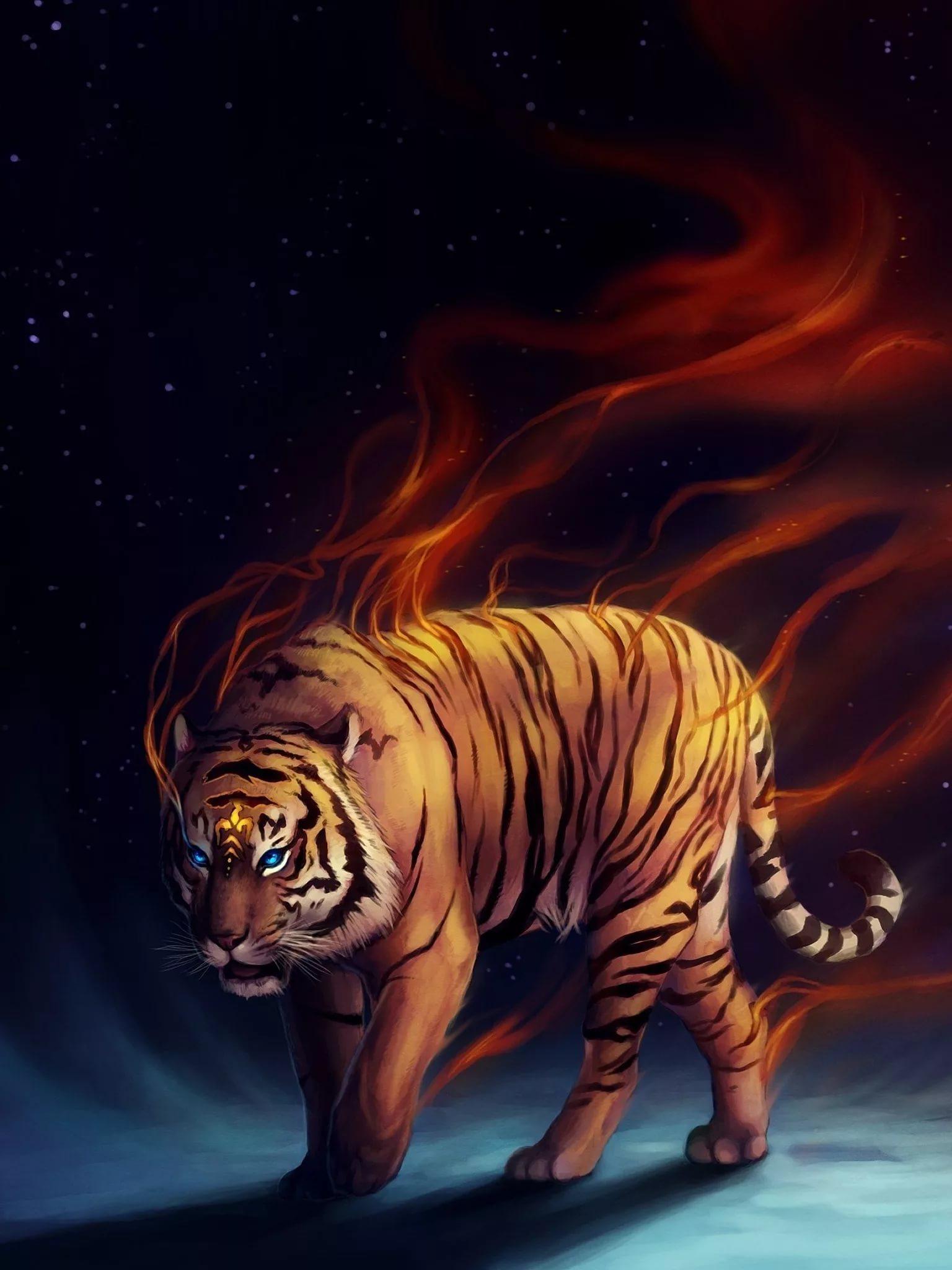 Картинки тигра на телефон скачать лучшие 3