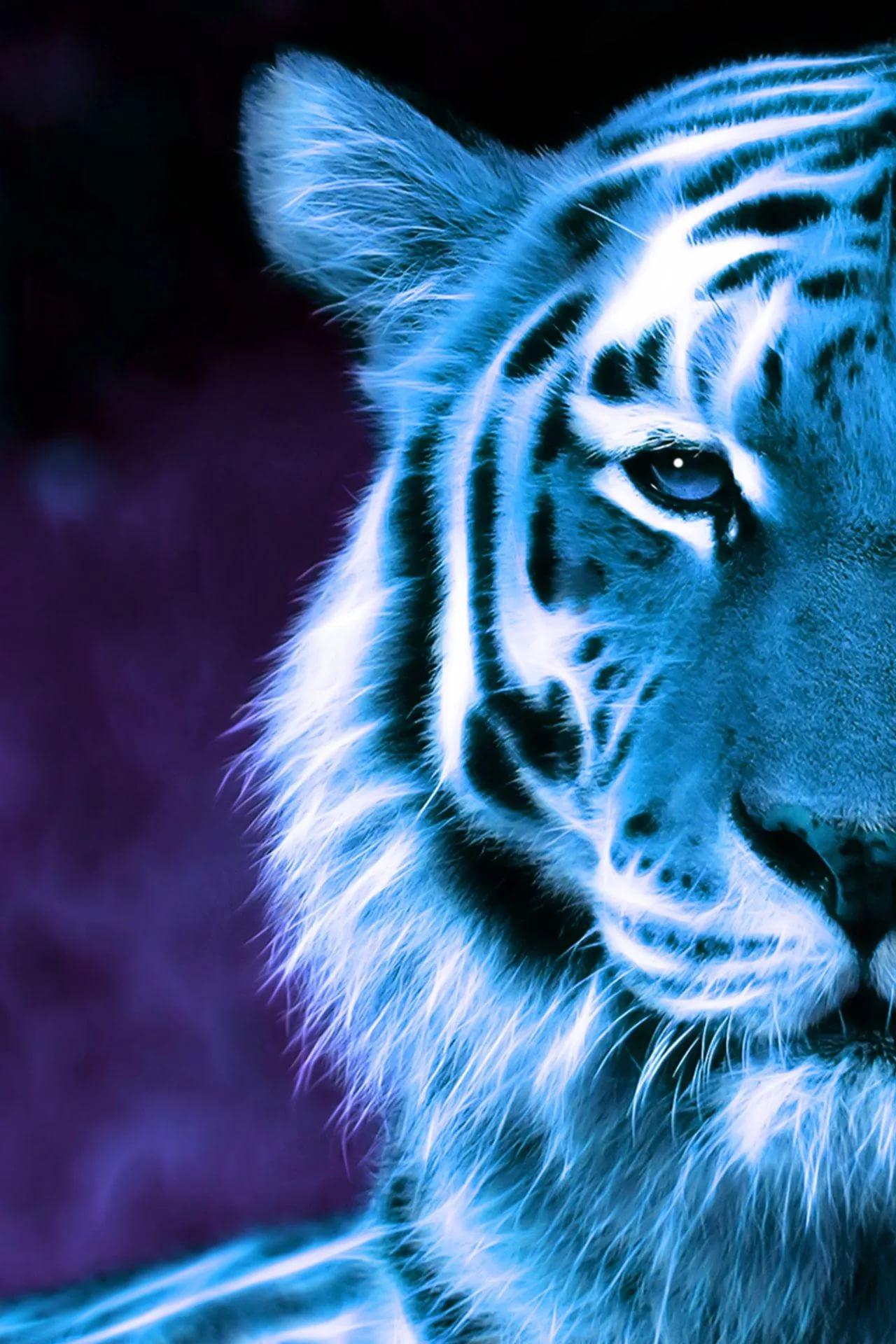 Картинки тигра на телефон скачать лучшие 9