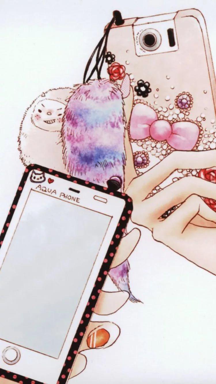 Красивые современные обои на телефон для девочек 29