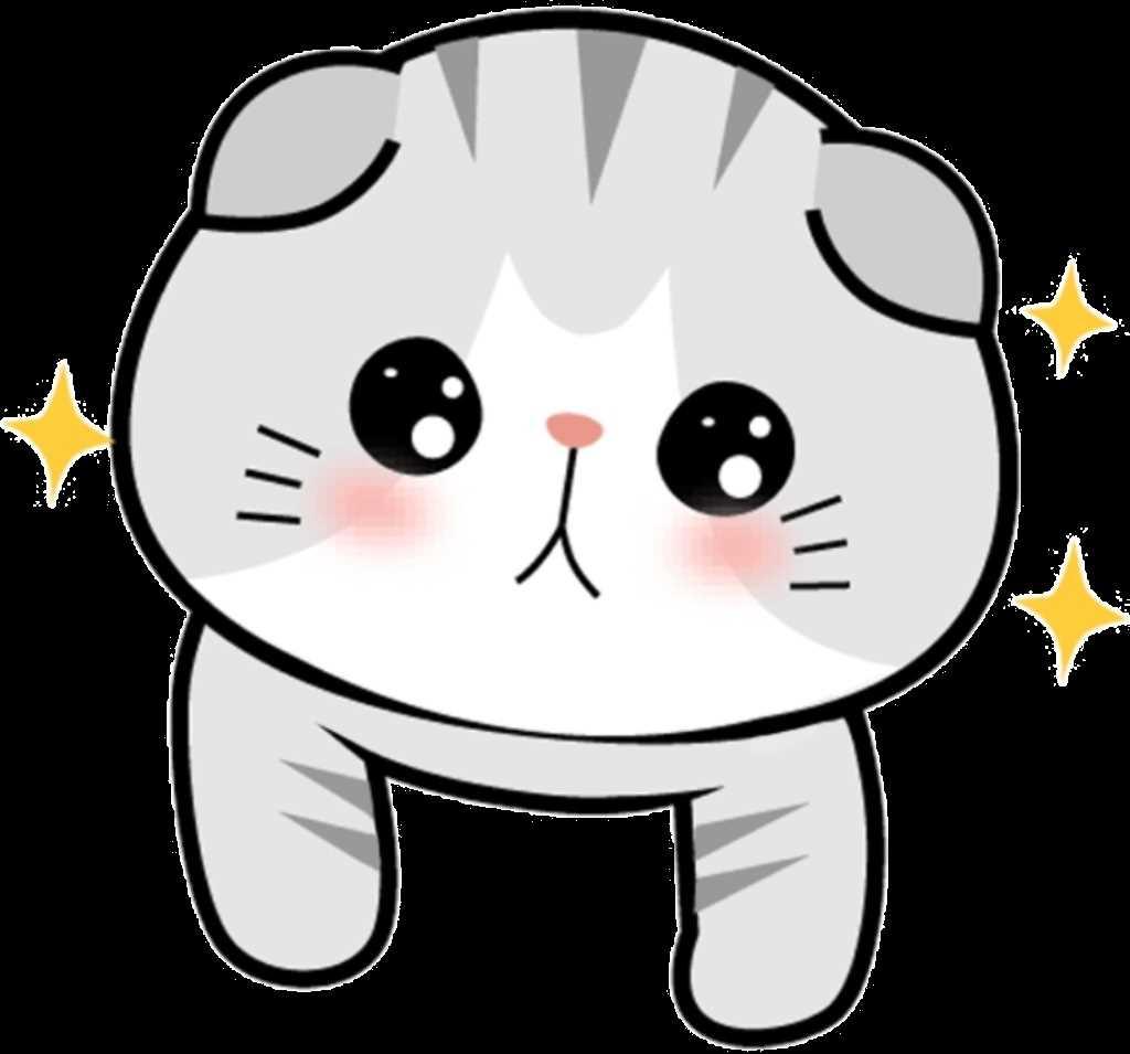 Картинки милые котики для рисования 16