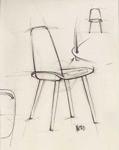 Картинки рисунок стулья для срисовки 10