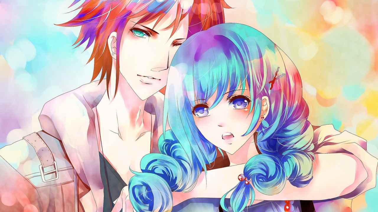 Красивые аниме арты парней с волосами 14