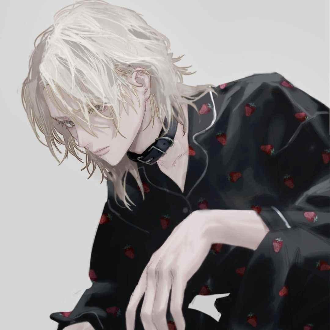 Красивые аниме арты парней с волосами 18