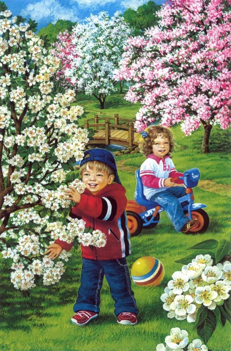 Красивые картинки для детей весна пришла 06