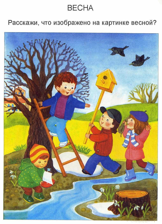 Красивые картинки для детей весна пришла 07