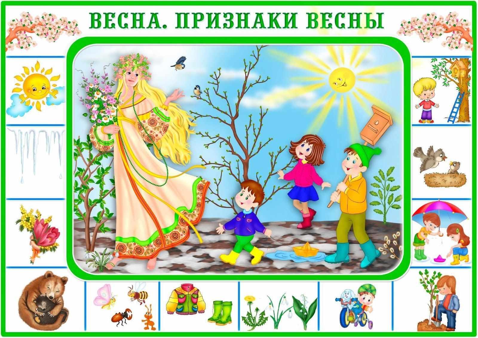 Красивые картинки для детей весна пришла 09