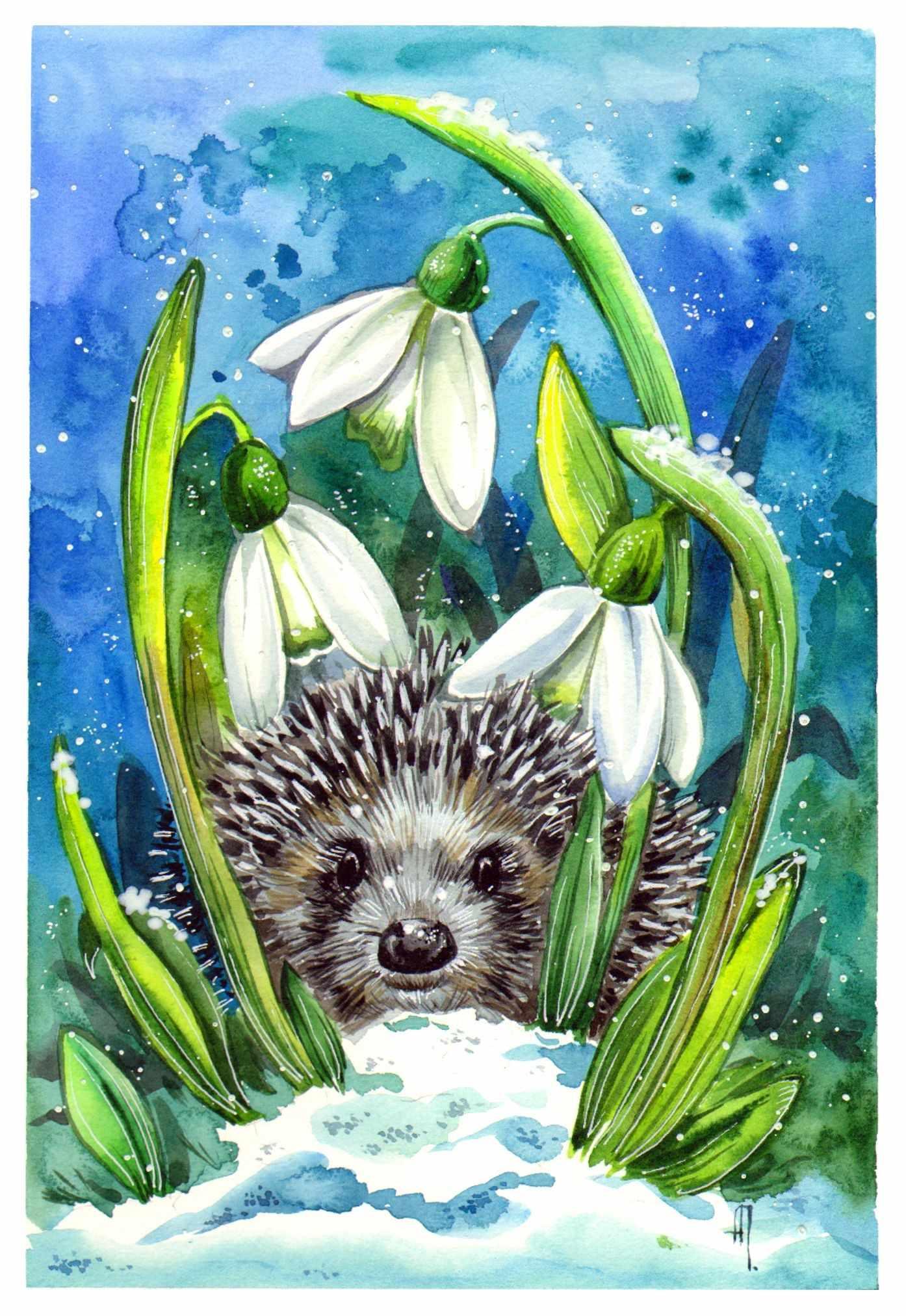 Красивые картинки для детей весна пришла 11