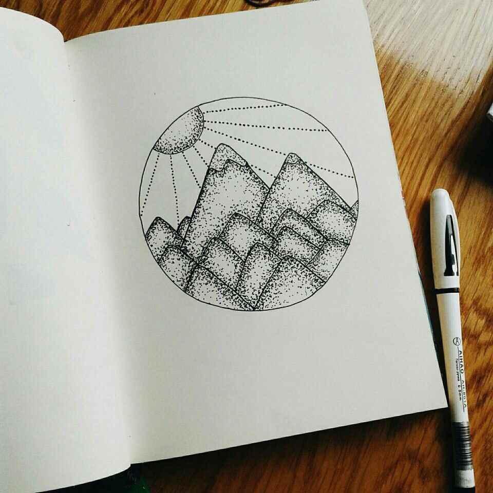 Красивые срисовки для скетчбука маленькие и милые 20