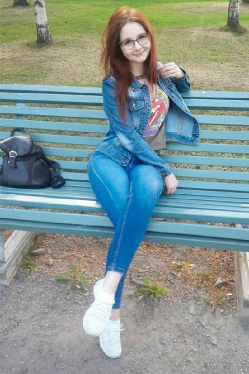 Красивые фото девушек джинсы, картинки 03
