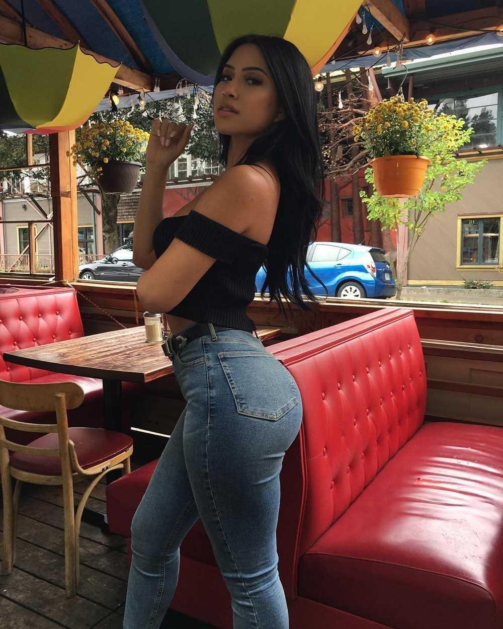 Красивые фото девушек джинсы, картинки 06