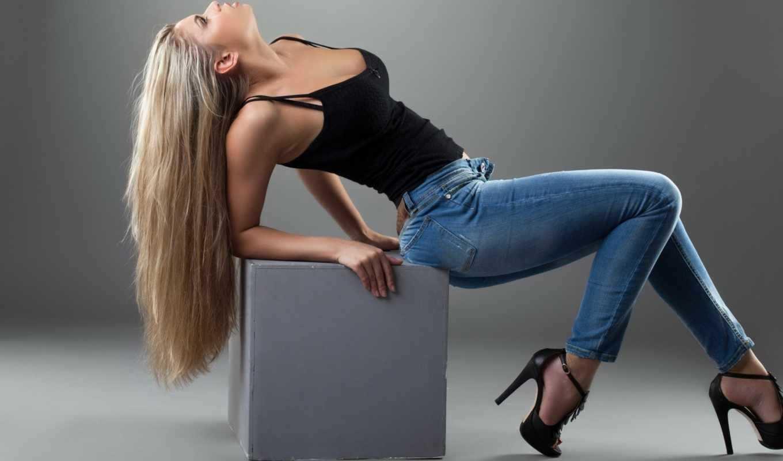 Красивые фото девушек джинсы, картинки 12