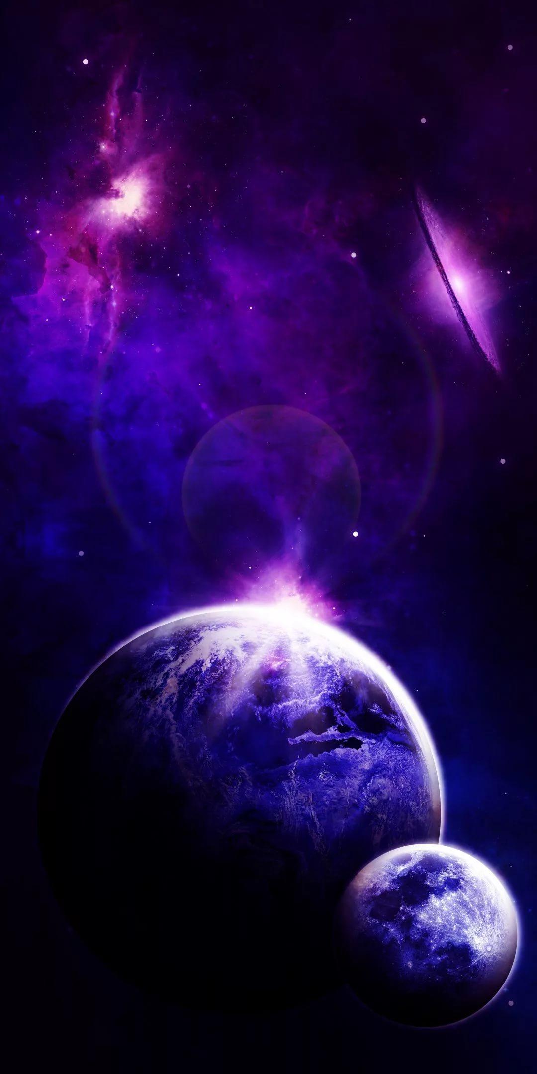 Красивые 4к обои космос на телефон 17