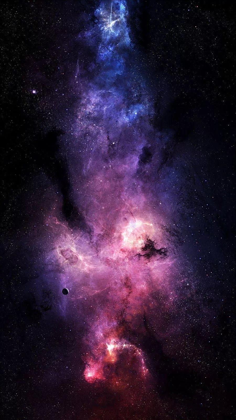 Красивые 4к обои космос на телефон 2