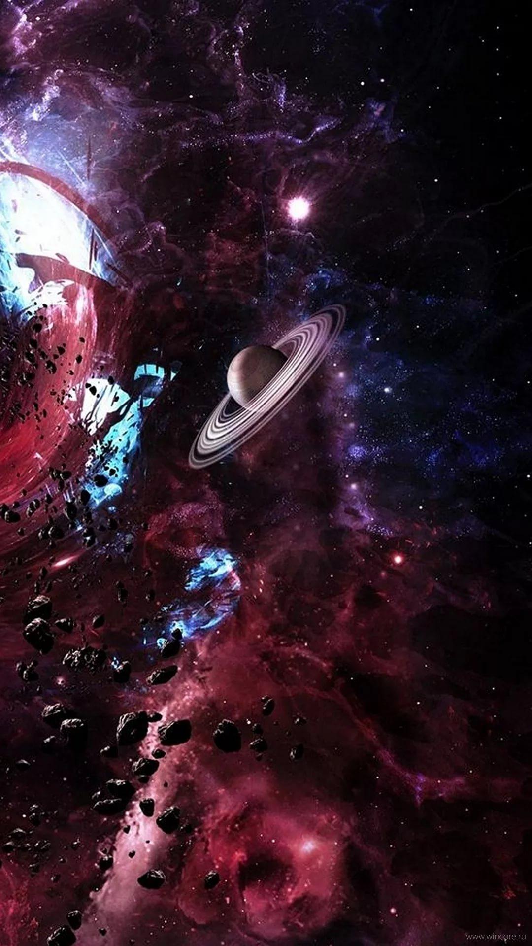 Красивые 4к обои космос на телефон 4