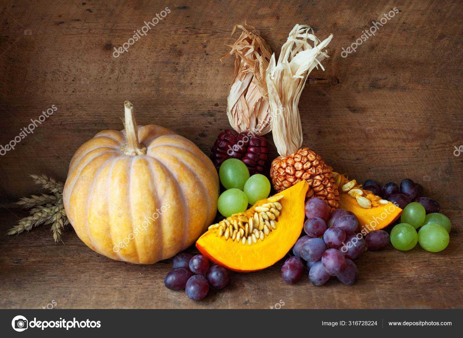 Красивый натюрморт рисунки фруктов 09