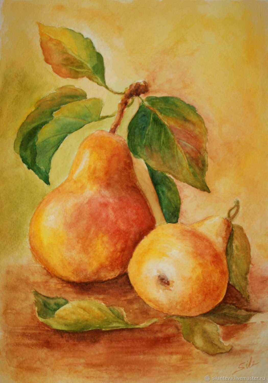 Красивый натюрморт рисунки фруктов 10