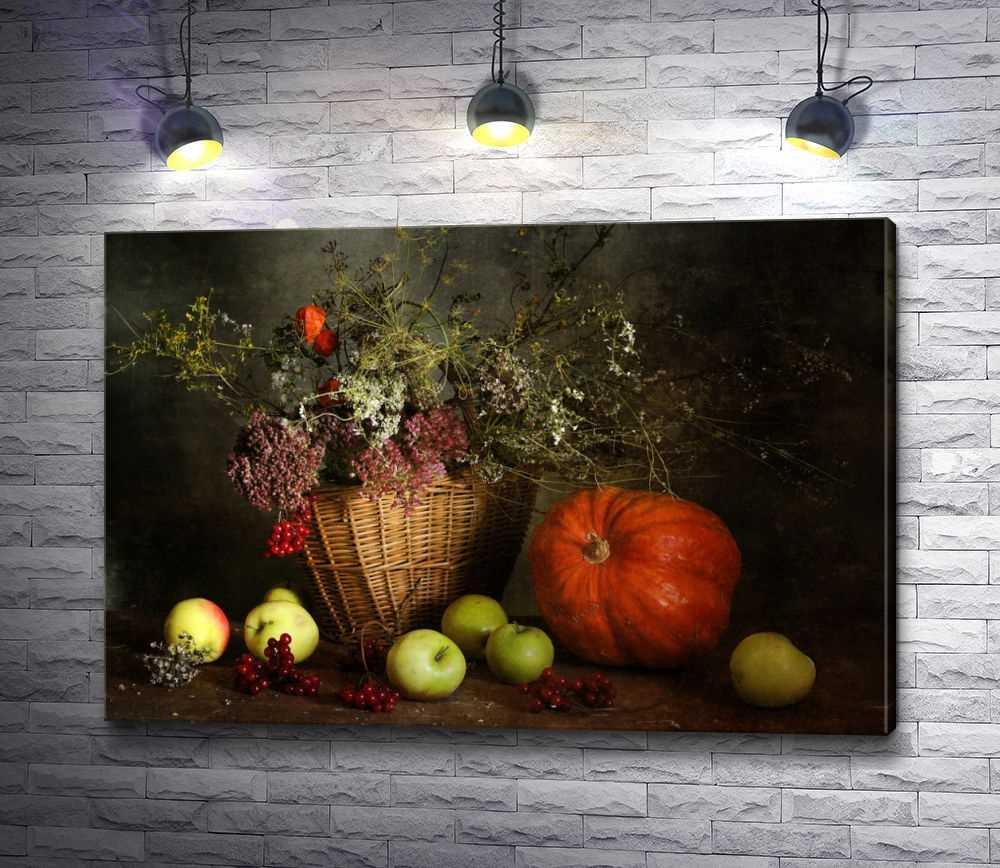 Красивый натюрморт рисунки фруктов 16