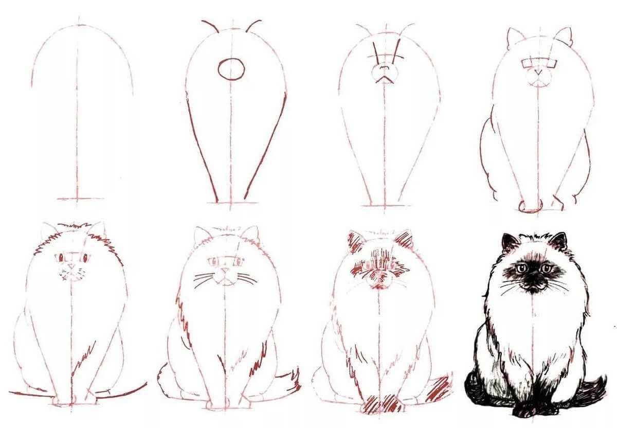 Легкие рисунки для начинающих, картинки 01