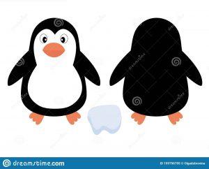 Милый пингвин картинка для детей 20