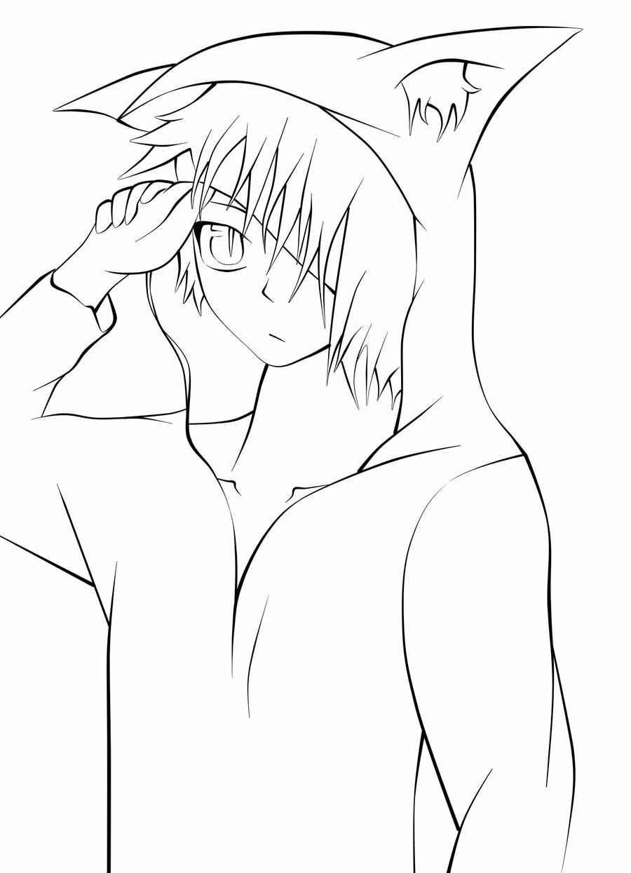 Прикольные аниме рисунки для срисовки парни 04