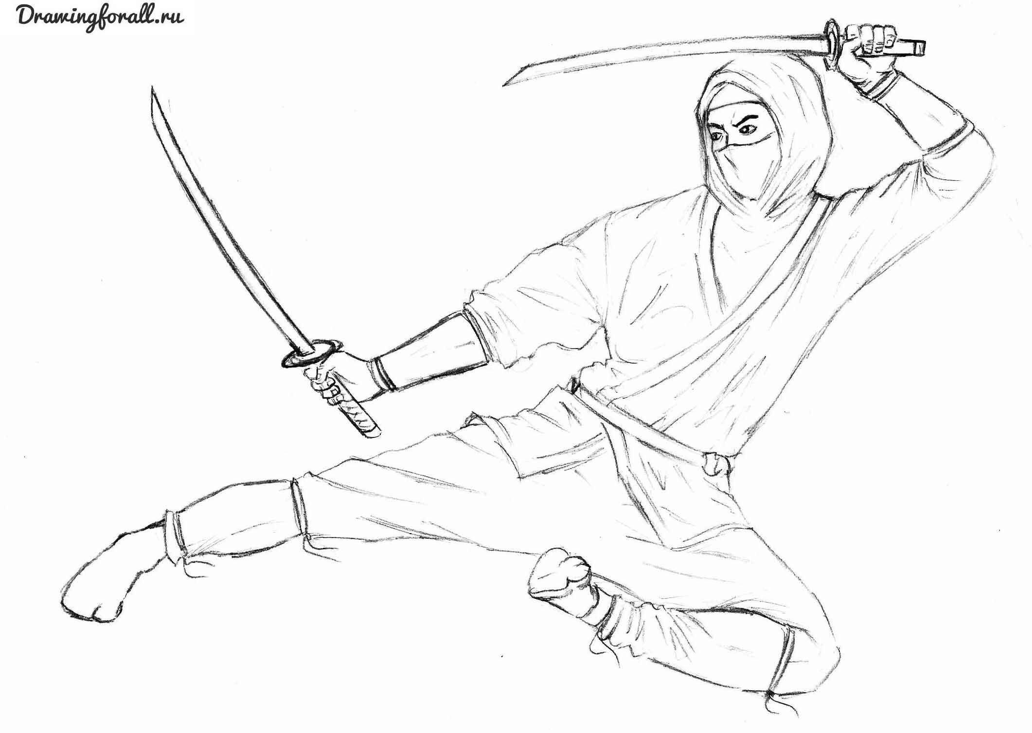 Простые аниме позы для срисовки, рисунки 11